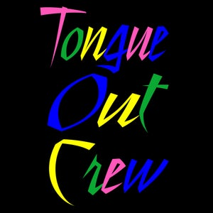 Image of Tongue Out Crew Original (Women's Tee)