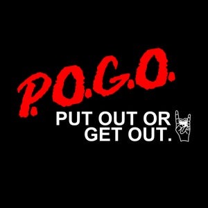 Image of P.O.G.O: DARE To Wear This (Men's Tee)