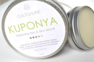 Image of KUPONYA RESTORING HAIR & BODY BALM 2 oz. *Sample Size*
