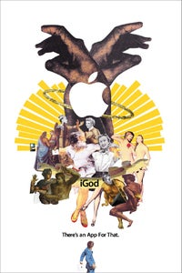 Image of iGod, A2 Limited Edition Print