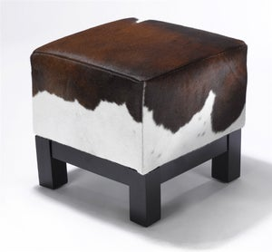 Image of Ottomans Seville Brown & White