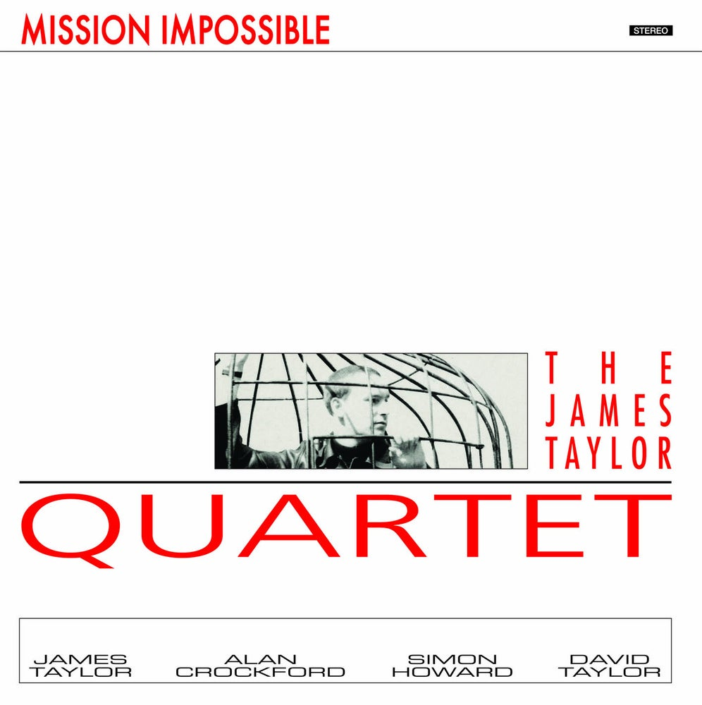 Image of James Taylor Quartet - Mission Impossible Album (re-issue) LP