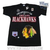 Image of Chicago BlackHawks Starter T shirt