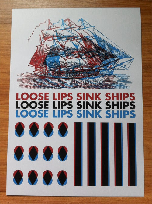 Image of Loose Lips Sink Ships