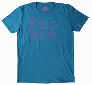 Image of Dub Nut. Pink/Old School Sapphire