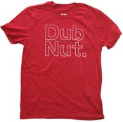 Image of Dub Nut. White/Old School Cherry