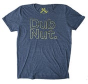 Image of Dub Nut. Yellow/Heather Navy