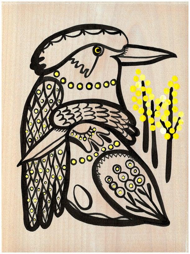 Image of Kookaburras Print