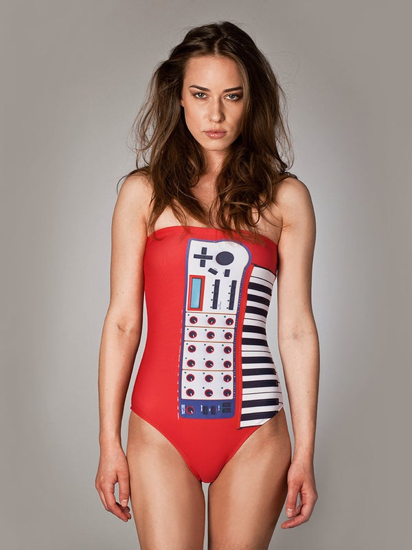 "Image of One Piece Swimsuit ""Puss Modular"""