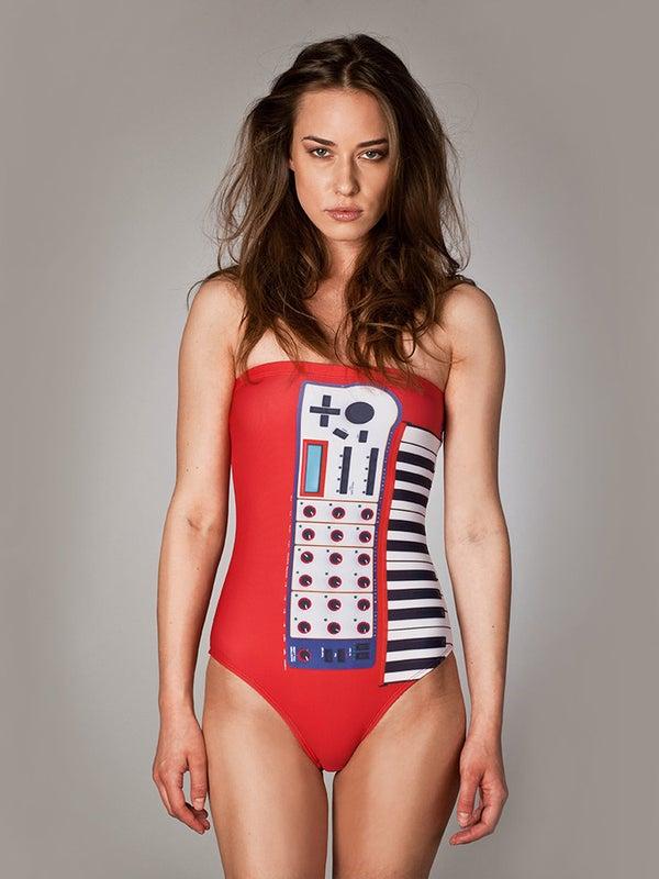 "Image of One Piece Swimsuit ""Puss Modular"""