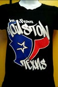 Image of Im From Houston Texas Women's Baby Tee