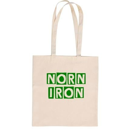 Image of Norn Iron - Cotton Tote Bag