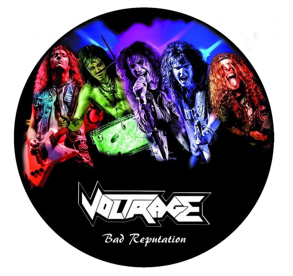 "Image of CD ""Bad reputation"" 2012"
