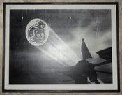 Image of The Bat S(ht!)ignal on Wood (1)