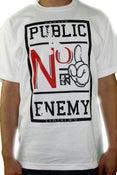 Image of PUBLIC ENEMY (White)