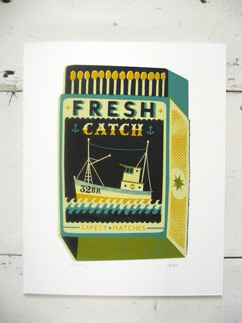 Image of Large Fresh Catch