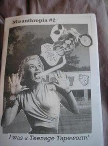 Image of Misanthropia! #2: I Was a Teenage Tapeworm!