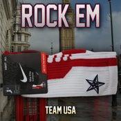 Image of Team USA Elite Socks - Red