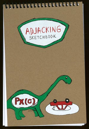 Image of Adjacking Sketchbook by Px(c)