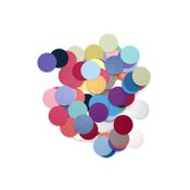Image of Metallic pearl dot confetti, 1""