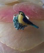 Image of Bird cabochon adjustable ring
