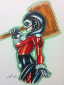 Image of Harleyquin Original Marker Drawing