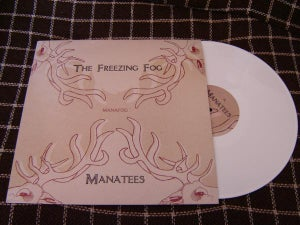 Image of MANAFOG - Manatees / The Freezing Fog - Split 12""