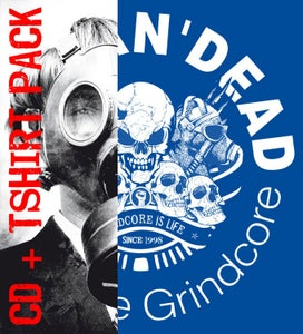 Image of Grindcore is life's pack CD + TSHIRT