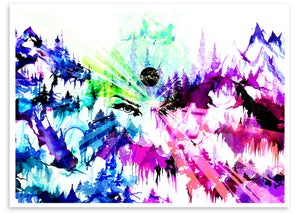 """Image of Visceral / Visible- 20""""x16"""" Giclee Print"""