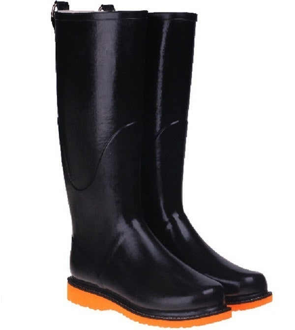 Image of Ilse Jacobsen Rubber Boots/Orange Sole