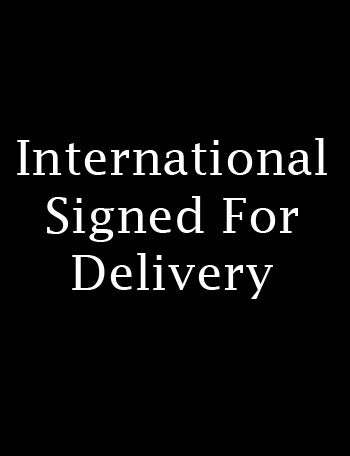 Image of SIGNED FOR DELIVERY - INTERNATIONAL