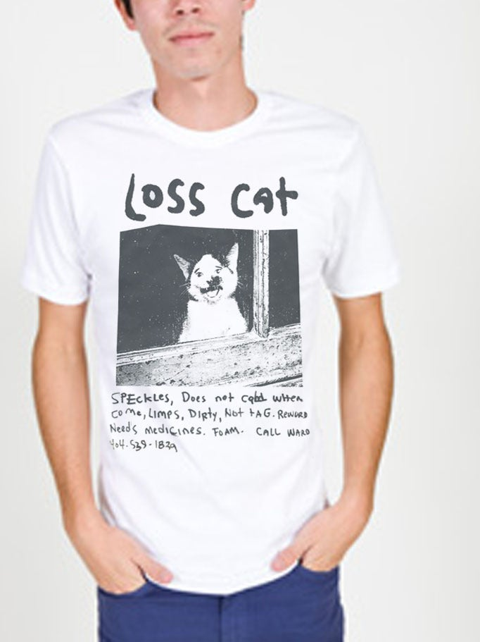 Image of Loss Cat Mega Print Tee Men