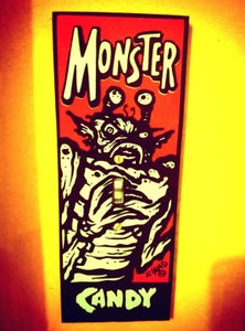 Image of Old School Monster Candy Switchplate