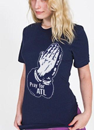 Image of Pray for ATL T-Shirt Ladies