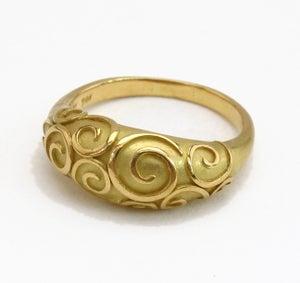 Image of Antique Swirl Ring 18k