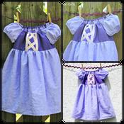 Image of Rapunzel Tangled Inspired Princess Dress