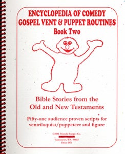 Image of Encyclopedia Of Comedy Gospel Vent & Puppet Routines Bk 2
