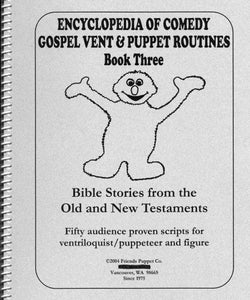 Image of Encyclopedia Of Comedy Gospel Vent & Puppet Routines Bk 3