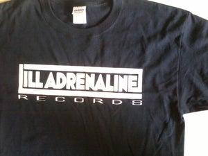 Image of Ill Adrenaline Records logo t-shirt