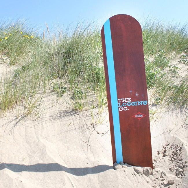 Image of blue stripe birch ply bellyboard