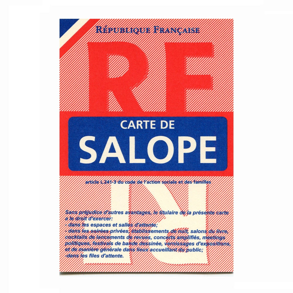 Image of Carte de salope
