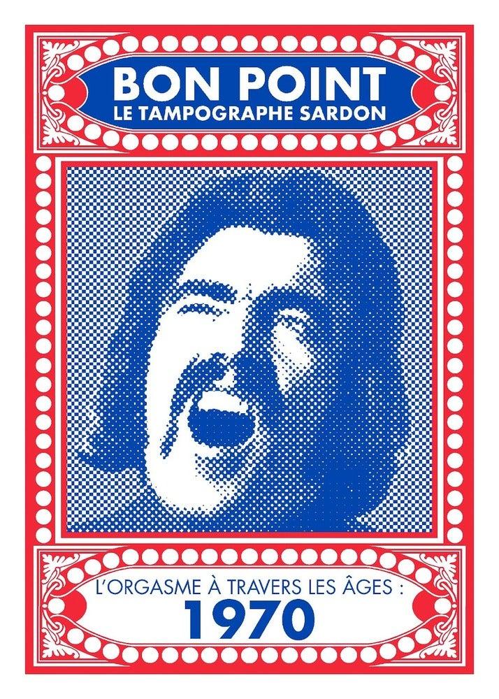 """Image of Sérigraphie """"l'orgasme à travers les âges, 1970"""""""