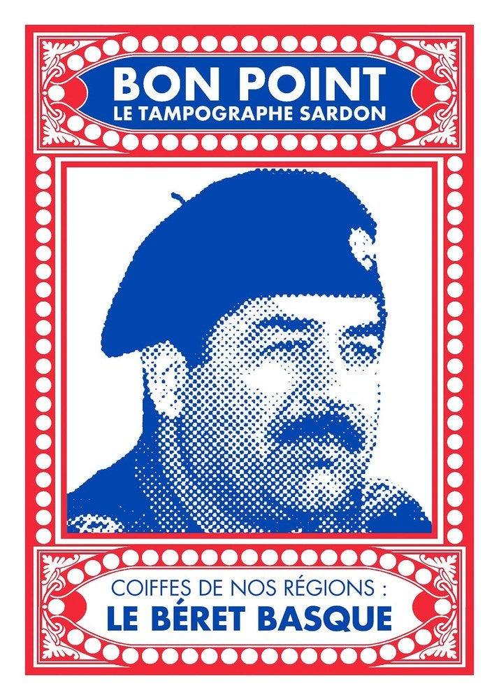 "Image of Sérigraphie ""le béret basque"""