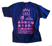Image of Pink and Blue Series EYECHART T