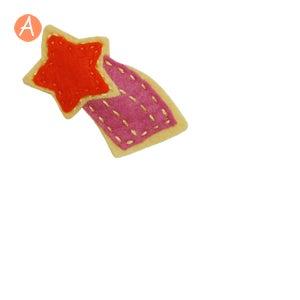Image of little girl hair clips #17