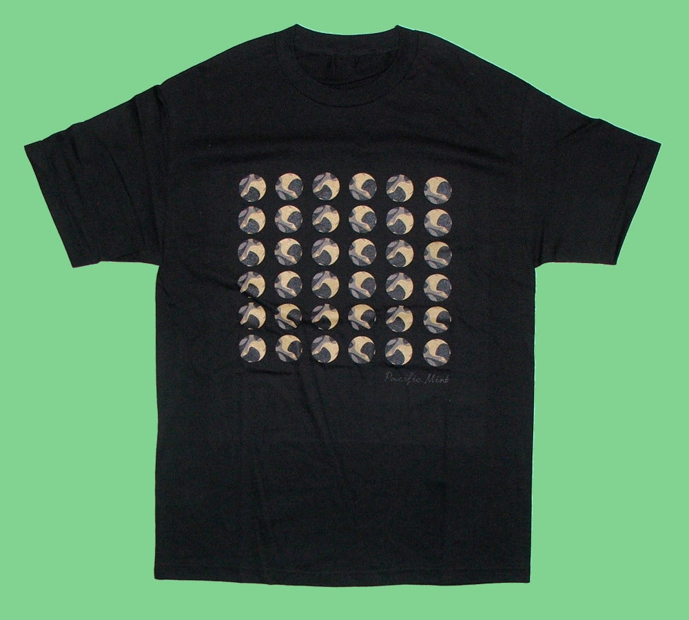"""Image of """"Camo Dots"""" Tee in Black"""