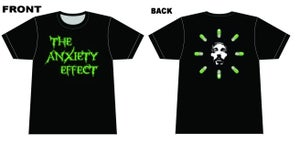 Image of The Anxiety Effect Pills T-Shirt
