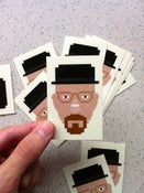 Image of Walter White / Heisenberg - Breaking Bad Sticker
