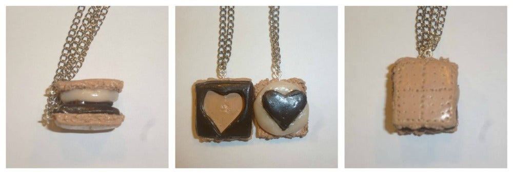 Image of S'mores Friendship Necklace
