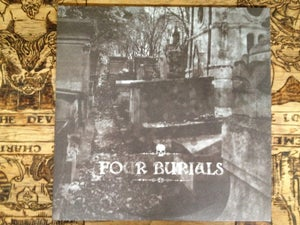 Image of 'FO(U)R BURIALS' 2xlp